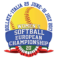 2017 European Softball Women Championship Logo