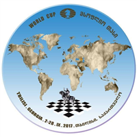 2017 Chess World Cup Logo