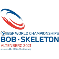 2021 World Bobsleigh Championships - Week 1 Logo