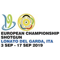 2019 European Shooting Championships Shotgun Logo