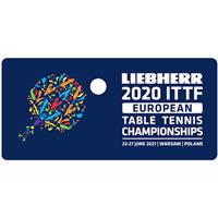 2021 European Table Tennis Championships Logo