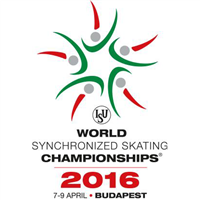 2016 World Synchronized Skating Championships Logo