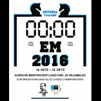 2016 European Rapid and Blitz Chess Championships Logo