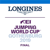 2019 Equestrian World Cup Final Logo