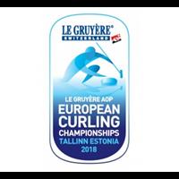2018 European Curling Championships Logo