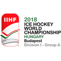 2018 Ice Hockey World Championship Division I A Logo