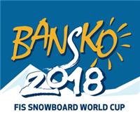 2018 FIS Snowboard World Cup Parallel GS Snowboardcross Logo