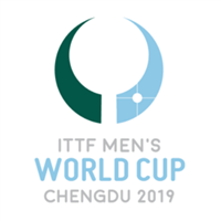 2019 Table Tennis World Cup Men Logo