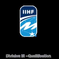 2018 Ice Hockey World Championship Division III Qualification Logo