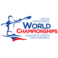 2017 Canoe Sprint World Championships Logo