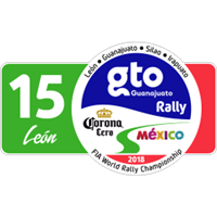 2018 World Rally Championship Rally Mexico Logo