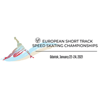 2021 European Short Track Speed Skating Championships Logo