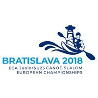 2018 European Canoe Slalom Junior and U23 Championships Logo