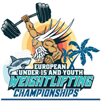 2019 European Youth Weightlifting Championships Logo