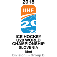 2018 Ice Hockey U20 World Championship Division I B Logo
