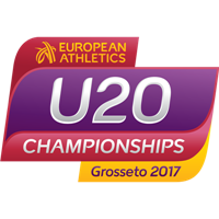 2017 European Athletics U20 Championships Logo