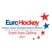 2021 EuroHockey Indoor Junior Championship  - Women II Logo