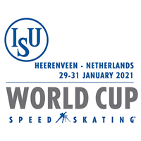2021 Speed Skating World Cup Logo