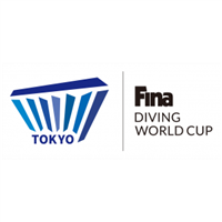 2021 Diving World Cup Logo