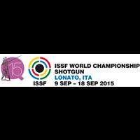 2015 ISSF World Shooting Championships Shotgun Logo