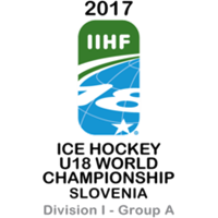 2017 Ice Hockey U18 World Championship Division I A Logo