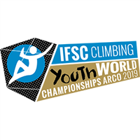 2019 IFSC Climbing World Youth Championship Logo