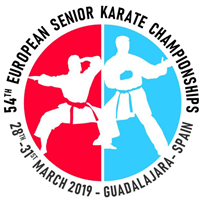 2019 European Karate Championships Logo