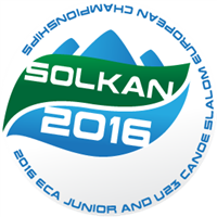 2016 European Canoe Slalom Junior and U23 Championships Logo