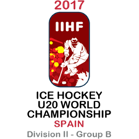 2017 Ice Hockey U20 World Championship Division II B Logo
