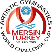 2016 Artistic Gymnastics World Challenge Cup Logo
