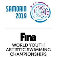 2019 Artistic Swimming Youth World Championships Logo
