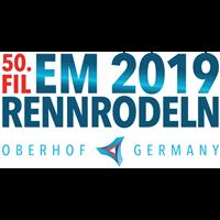 2019 Luge European Championships Logo