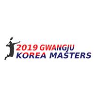 2019 BWF Badminton World Tour Korea Masters Logo