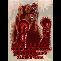 2016 European Schoolboys Boxing Championships Logo
