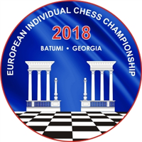 2018 European Individual Chess Championship Logo