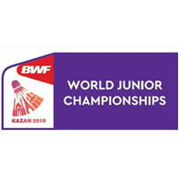 2019 BWF Badminton World Junior Championships Logo