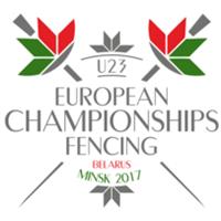 2017 European Fencing Championships U-23 Logo