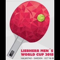 2015 Table Tennis World Cup Men Logo