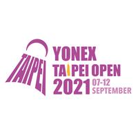 2021 BWF Badminton World Tour - YONEX Taipei Open Logo