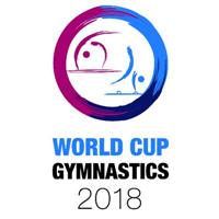 2018 Artistic Gymnastics World Cup Logo
