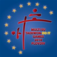 2018 Taekwondo Multi European Championships Logo