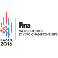 2016 FINA World Junior Diving Championships Logo