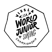 2018 World Junior Surfing Championship Logo