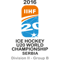 2016 IIHF World Junior Championships Division II B Logo
