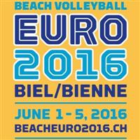 2016 Beach Volleyball European Championships Logo