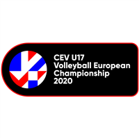 2020 European Volleyball Championship U17 Women Logo