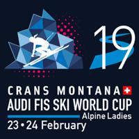 2019 FIS Alpine Skiing World Cup Women Logo