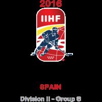 2016 Ice Hockey World U18 Championships Division II B Logo