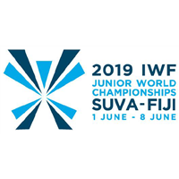 2019 World Junior Weightlifting Championships Logo