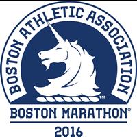 2016 World Marathon Majors Boston Marathon Logo